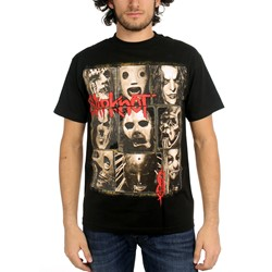 Slipknot - Mens Mezzotint T-Shirt In Black