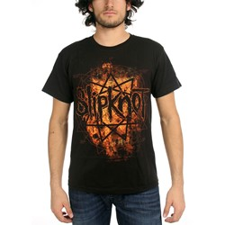 Slipknot - Radio Fires Mens T-Shirt In Black