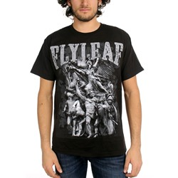 Flyleaf - War Mens T-Shirt in Black