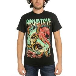 Parkway Drive - Mens Sharktopus T-Shirt
