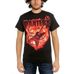 Pantera - Guitar Snake Mens S/S T-Shirt In Black