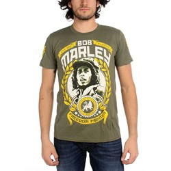 Catch A Fire - Freedom Fighter Mens T-Shirt In Military Green