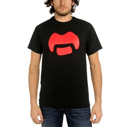 Frank Zappa - Mens Mustache T-Shirt in Black