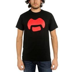 Frank Zappa - Mens Mustache T-Shirt in Black
