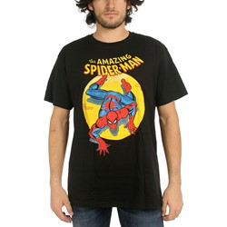 Marvel Comics - Mens Spider-Man Spotlight T-Shirt In Black