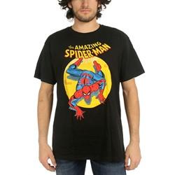 Marvel Comics - Mens Spider-Man Spotlight T-Shirt In Black