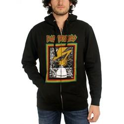 Bad Brains Capitol Zipper Hoodie In Black