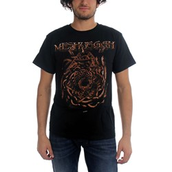 Meshuggah - Mens Spiral Of Snakes T-Shirt In Black