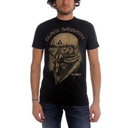 Black Sabbath - Mens Us Tour 78 T-shirt in Black