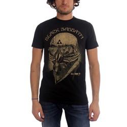 Black Sabbath - Mens Us Tour 78 T-shirt in Black