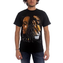 Bob Marley - Profiles Adult T-Shirt in Black