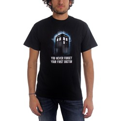 Dr. Who - First Doctor Mens T-Shirt in Black