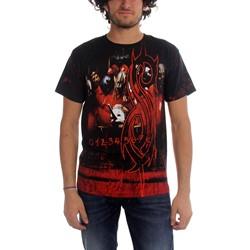 Slipknot - Debut Allover Mens T-Shirt In Black