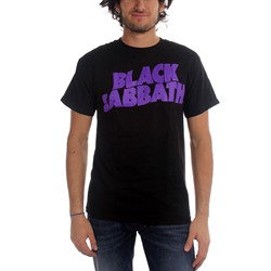 Black Sabbath - Mens Logo T-shirt in Black
