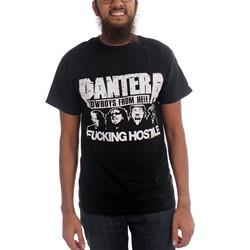 Pantera - Mens Fucking Hostile T-Shirt In Black