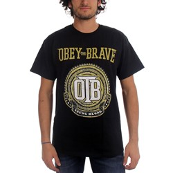Obey The Brave - Mens Crest T-Shirt