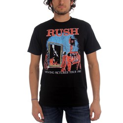Rush - Moving Pictures Mens T-Shirt In Black