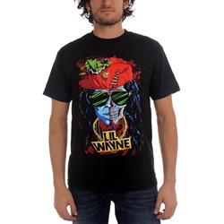 Lil Wayne - Mens Half Skull T-shirt in Black