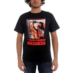 Texas Chainsaw Massacre - What Happened Is True! Mens T-Shirt In Black