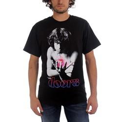 The Doors - Psychedelic Jim Mens S/S T-Shirt In Black