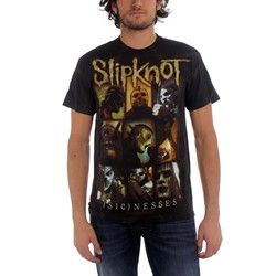 Slipknot - Mens Sickness T-Shirt In Black