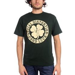 Social Distortion - Mens Irish T-Shirt In Black