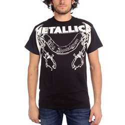 Metallica - My Apocalypse  Mens S/S T-Shirt In Black