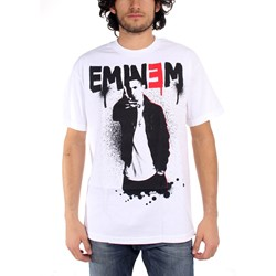Eminem - Sprayed Up Mens T-Shirt In White