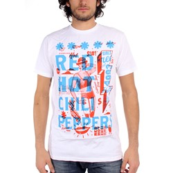 Red Hot Chili Peppers  - Mens Multiply T-Shirt In White