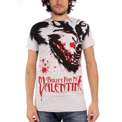 Bullet For My Valentine - Mens Werewolf T-Shirt In Silver