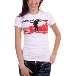 Eminem - Top Of The World Womens T-Shirt In White