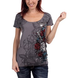 Sinful - Womens Dark Romance V-Neck T-Shirt