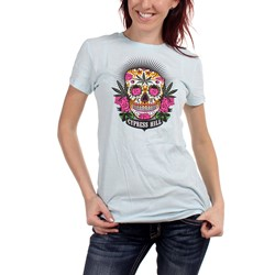 Cypress Hill  - Juniors Mujeres Muertes T-Shirt In Blue