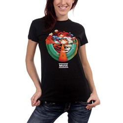 Muse - Exogenesis Girls T-Shirt In Black