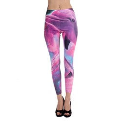 Iron Fist - Womens Dolphinography Leggings