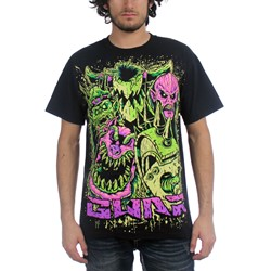 GWAR - Mens Faces T-Shirt in Black