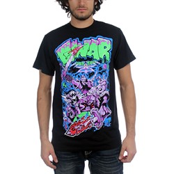 GWAR - Mens Alien Decapitation T-Shirt in Black