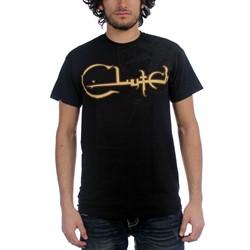 Clutch - Mens Compass T-Shirt in Black