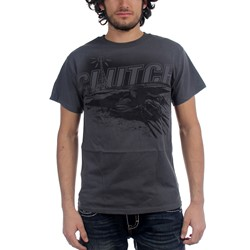 Clutch - Mens Hess T-Shirt in Grey
