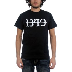 1349 - Mens Logo T-Shirt in Red/Black