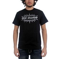 Coal Chamber - Mens Burst Logo T-Shirt in Black