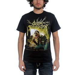 Cattle Decapitation - Mens Monolith Cover T-Shirt in Black