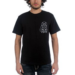Prosthetic Records - Mens Venice 2 T-Shirt in Black//Gray