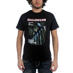 Halloween One Good Scare Adult T-Shirt In Black
