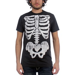 Impact Originals - X-Ray Big Print Mens T-Shirt In Coal