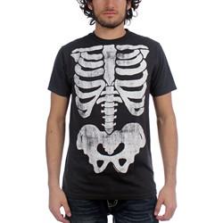 Impact Originals - X-Ray Big Print Mens T-Shirt In Coal
