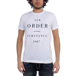 New Order Substance 1987 Fitted Jersey T-Shirt