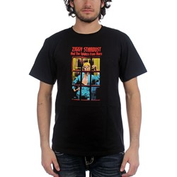David Bowie Ziggy Phonebooth Adult T-Shirt