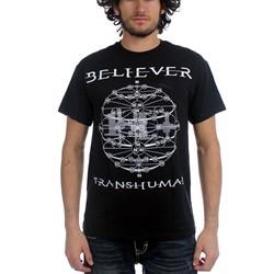 Believer - Mens Sphere T-Shirt in Black