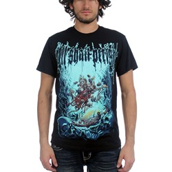 All Shall Perish - Mens Deep Sea T-Shirt in Black